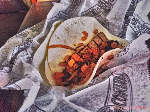 Dirty hippy tacos