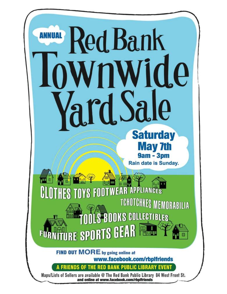 Red Bank Yard Sale 2016