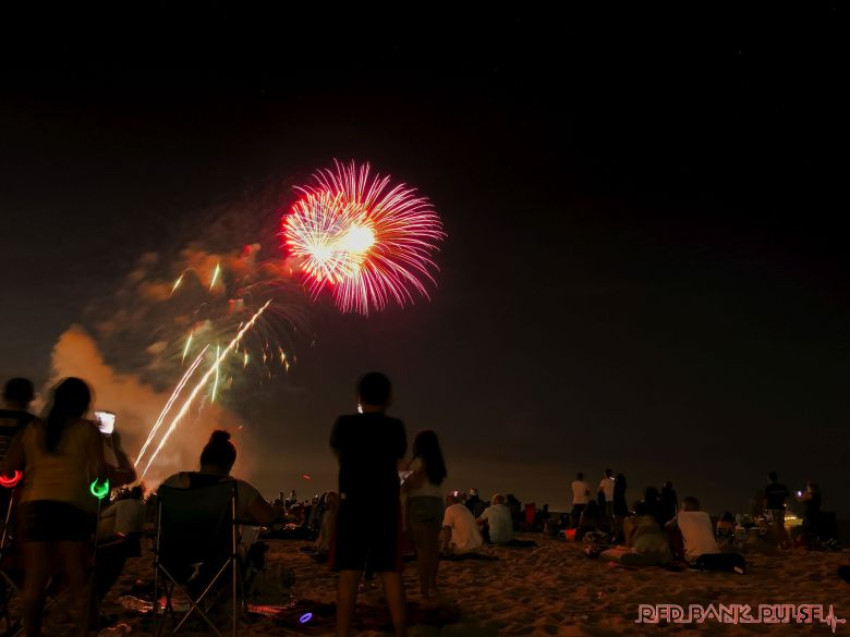 fireworks in Long Branch 11 of 12
