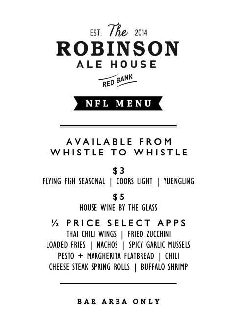 robinson ale house
