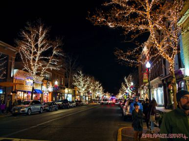 Red Bank Holiday Lights 1 of 9