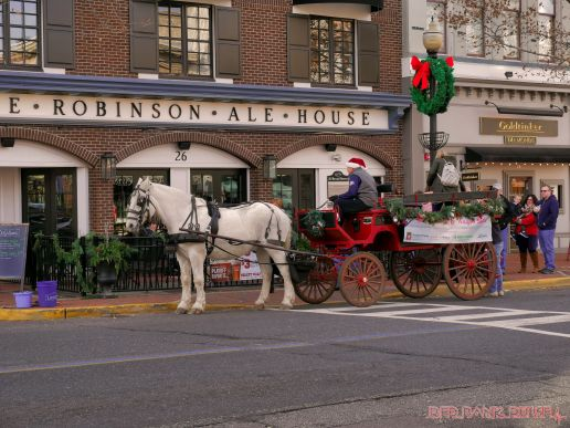 Red Bank Holiday Decorations Horse Rides 15 of 33