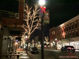 Red Bank Holiday Lights 1 of 7