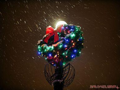 Red Bank Snow Snowfall Holiday Lights 4 of 8