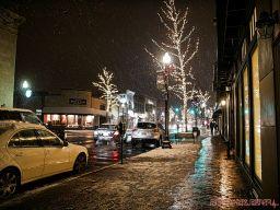 Red Bank Snow Snowfall Holiday Lights 7 of 8
