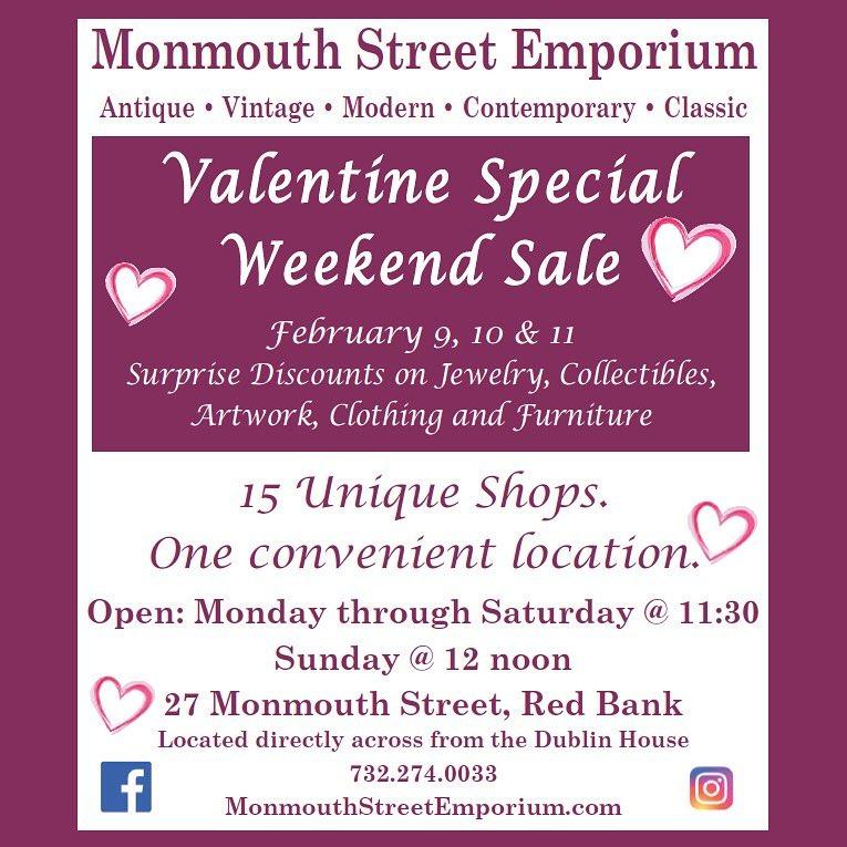 Monmouth Street Emporium Valentine's Day