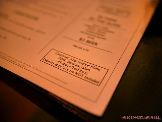 Teak Restaurant Customer Appreciation Monday 8 of 27