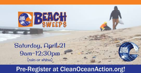 Clean Ocean Action Beach Sweeps