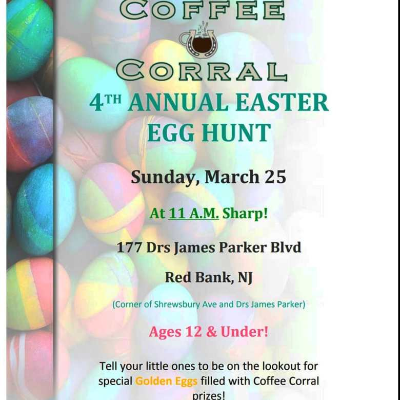 Coffee Corral Easter Egg Hunt
