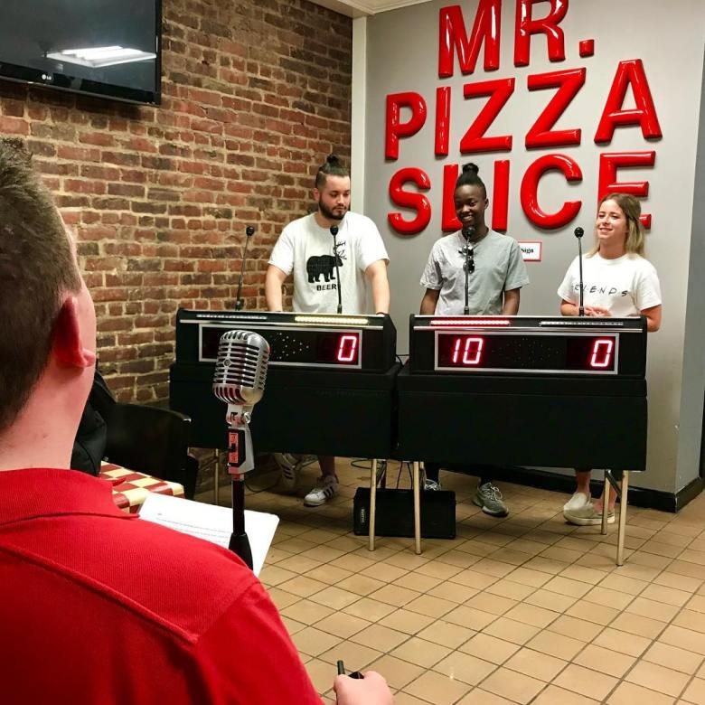 mr pizza slice game night