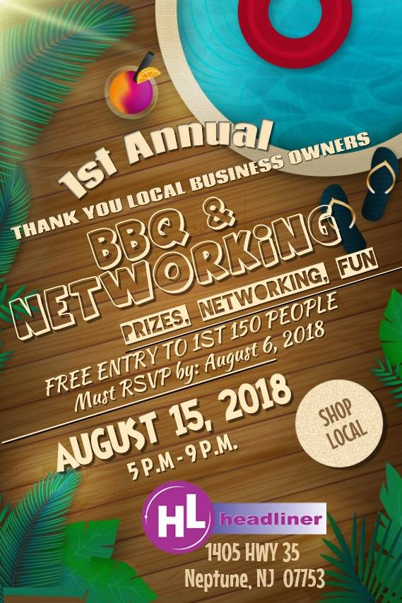 1st Annual Thank You NJ Local Business Owners BBQ & Networking