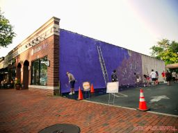 3rd annual community mural painting Indie Street Film Festival 2 of 36