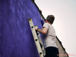 3rd annual community mural painting Indie Street Film Festival 25 of 36