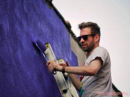 3rd annual community mural painting Indie Street Film Festival 27 of 36