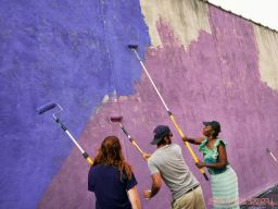 3rd annual community mural painting Indie Street Film Festival 29 of 36