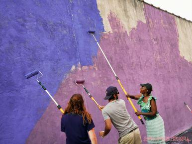 3rd annual community mural painting Indie Street Film Festival 29 of 36