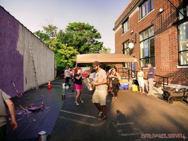3rd annual community mural painting Indie Street Film Festival 31 of 36