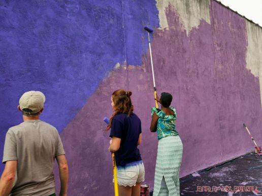 3rd annual community mural painting Indie Street Film Festival 32 of 36