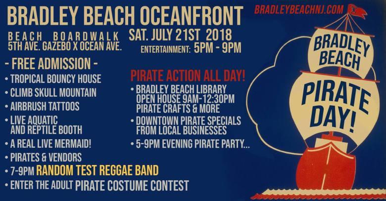 Bradley Beach Pirate Day
