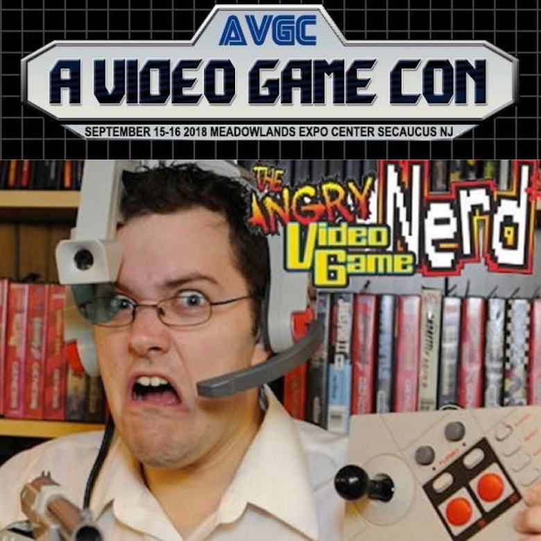 A Video Game COn Angry Nerd
