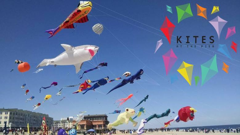 Kites at the Pier