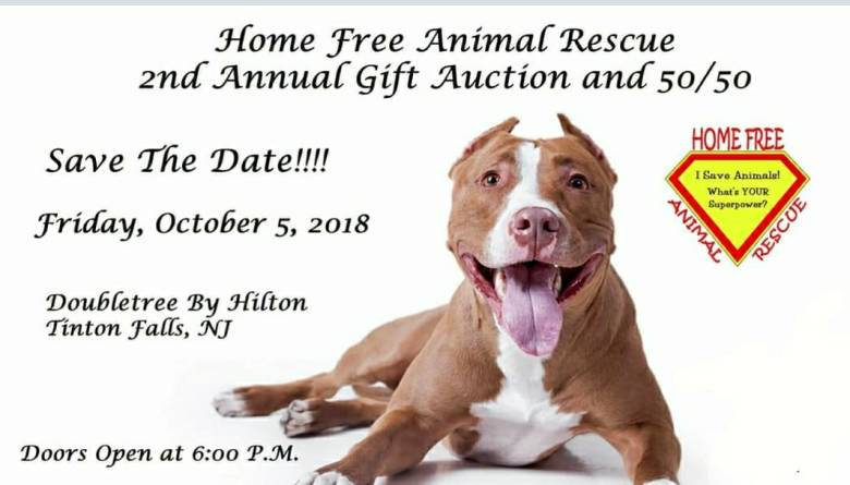 Home Free Animal Rescue's 2nd Annual Gift Auction
