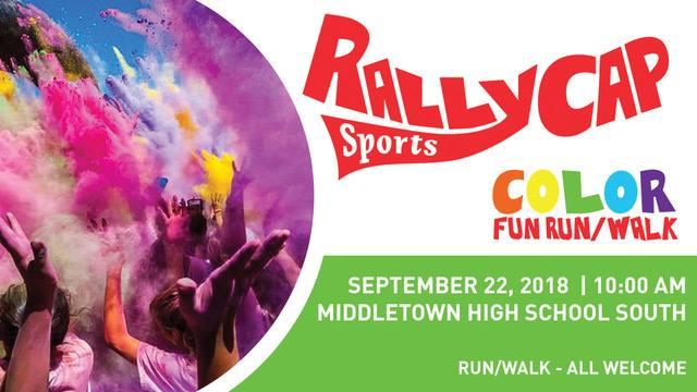 RallyCap Sports Color Fun Run Walk
