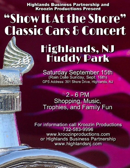 Show It At the Shore Classic Cars & Concert Highlands 2
