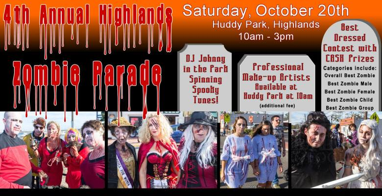 4th Annual Highlands Zombie Parade