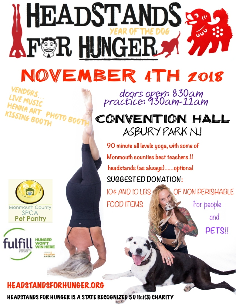 Headstands for Hunger 2018