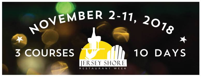 Jersey Shore Restaurant Week 2018 banner