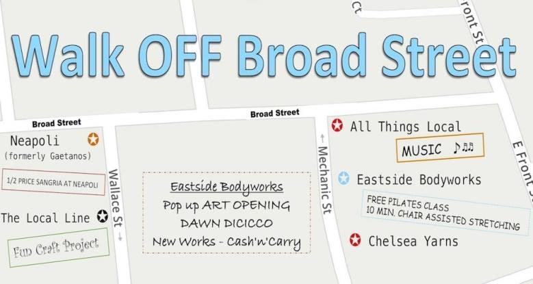 Walk off braod street