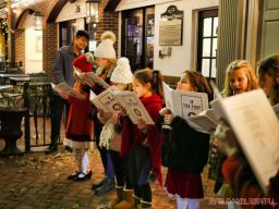Goldtinker carolers from The Prep NJ 12 of 43