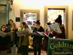 Goldtinker carolers from The Prep NJ 16 of 43