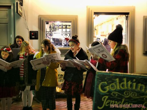 Goldtinker carolers from The Prep NJ 17 of 43