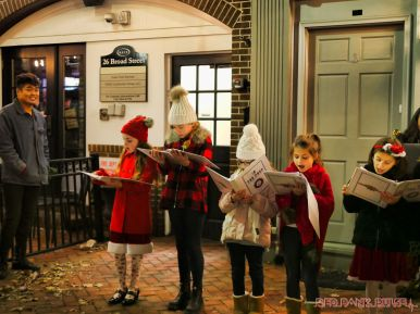 Goldtinker carolers from The Prep NJ 18 of 43