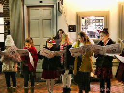 Goldtinker carolers from The Prep NJ 19 of 43