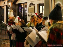 Goldtinker carolers from The Prep NJ 6 of 43