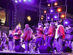 Holiday Express Concert Town Lighting 102 of 150