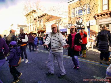 Life Vest Inside flash mob dancing World Kindness Day 102 of 117