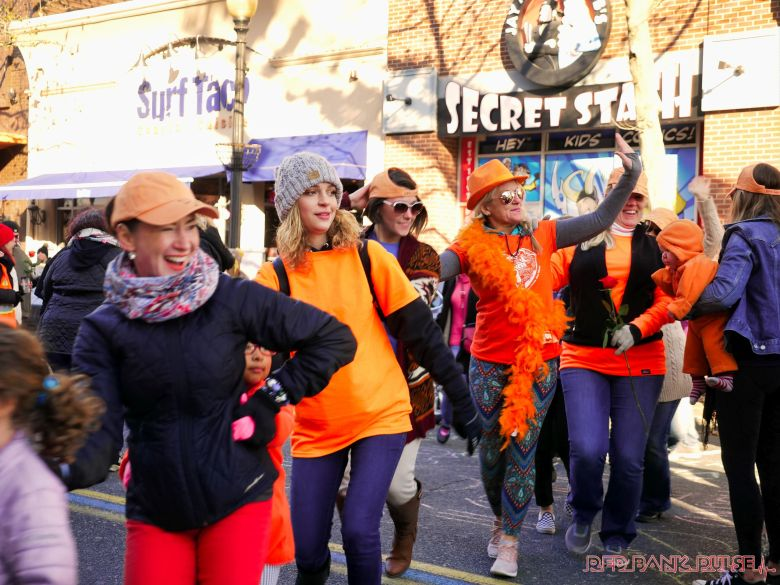 Life Vest Inside flash mob dancing World Kindness Day 106 of 117