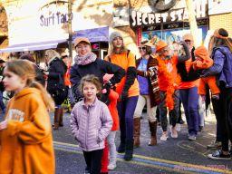 Life Vest Inside flash mob dancing World Kindness Day 107 of 117