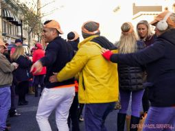 Life Vest Inside flash mob dancing World Kindness Day 108 of 117