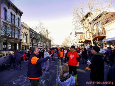 Life Vest Inside flash mob dancing World Kindness Day 115 of 117