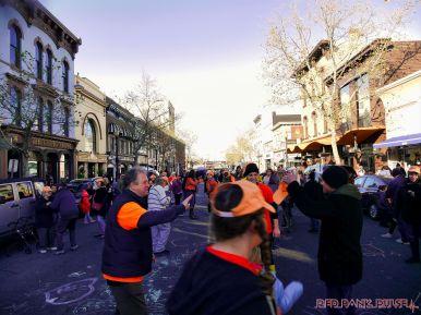 Life Vest Inside flash mob dancing World Kindness Day 116 of 117