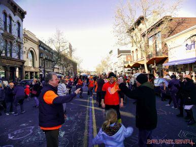 Life Vest Inside flash mob dancing World Kindness Day 117 of 117