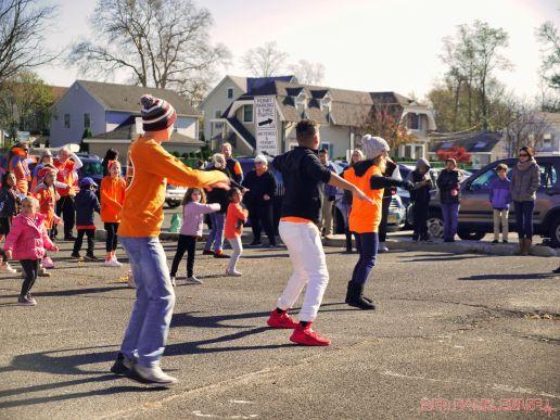 Life Vest Inside flash mob dancing World Kindness Day 23 of 117