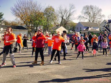 Life Vest Inside flash mob dancing World Kindness Day 24 of 117