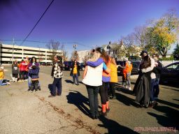 Life Vest Inside flash mob dancing World Kindness Day 31 of 117