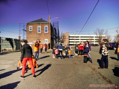 Life Vest Inside flash mob dancing World Kindness Day 32 of 117
